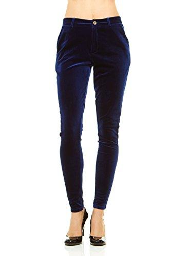 Velvet Pants Jeans (Red Jeans Women's Skinny Stretchy Velvet Pants)