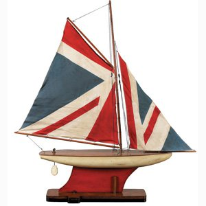 InvitingHome Union Jack Pond Yacht