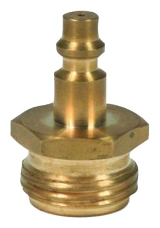 Camco Blow Out Plug With Brass Quick Connect-Aids In Removal of Water From Water Lines (36143)