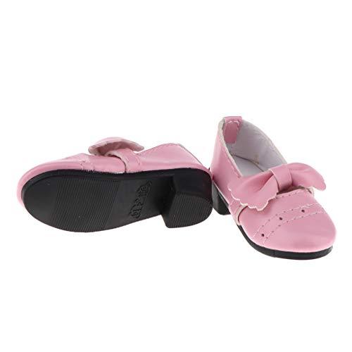 Zapatos 2 B Ceremonia Muñeca Bailarina Ballet Princesa De Plana Blesiya Sandalias Rosa 1 Chica 1 Niña Individual Pisos 3 rU5rqY