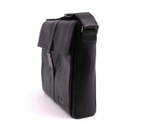 BREE, Messenger Bag, Milano 4, color negro, talla estándar negro - negro