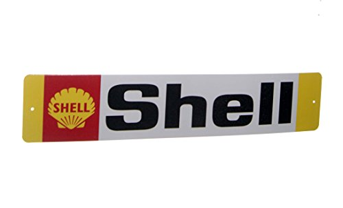 Tin Sign Shell (Shell Nostalgic Gas Station 5