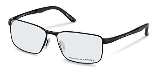 Porsche Design - P8273, Geometric, titanium, men, BLACK(A AA), 56/14/140 (Porsche Design Eyewear)
