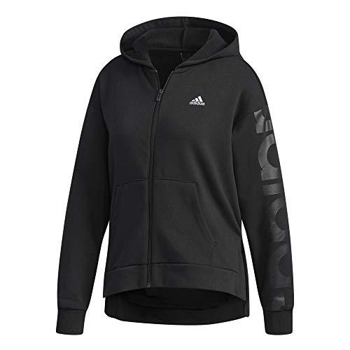Sw Sudadera Adidas Fzjk Negro Bl Mujer Con Capucha W Para qIfPfEzw