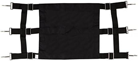 Pfiff 005412-60-1 - Puerta de Lona para cuadras, Color Negro
