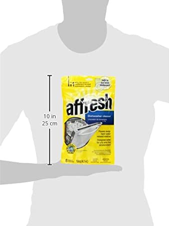 Amazon.com: Whirlpool W10282479 Affresh Dishwasher Cleaner, 4.2 oz (3-Pack): Health & Personal Care
