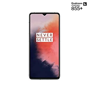 OnePlus 7T Dual-SIM 128GB/8GB RAM (GSM, CDMA) Factory Unlocked 4G/LTE Android Smartphone – International Version (Frosted Silver)