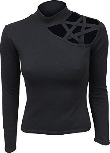 Spiral Gothic Elegance Shirt met lange mouwen zwart Gothic, Rock wear
