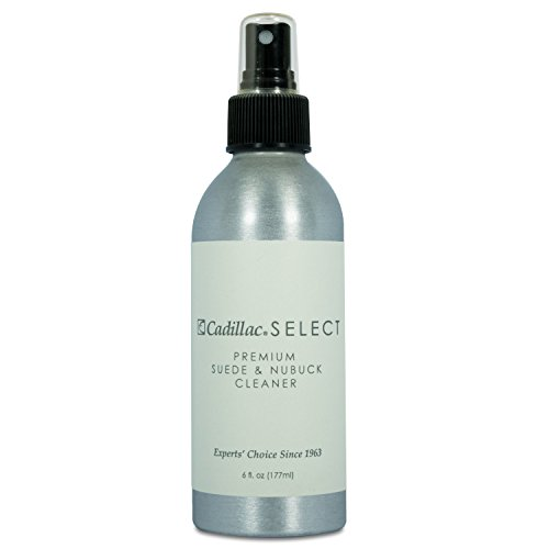 Cadillac Select Suede and Nubuck Cleaner and Protector for Shoes, Boots, Gloves, Bags, and More 6 fl oz
