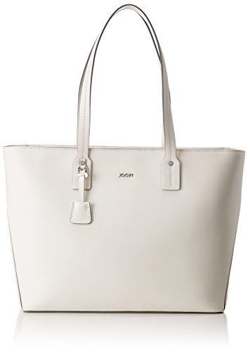 Joop! Pure Kornelia Shopper Lhz - Bolsos maletín Mujer Blanco (Offwhite)
