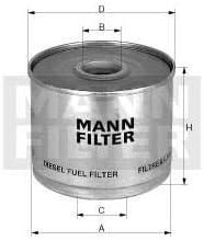 Kraftstofffilter ersatz MANN 65003192