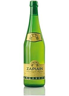 Zapiain Sidra Nature de 7º - Paquete de 6 botellas de 75 ...