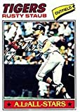 1977 Topps Regular (Baseball) Card# 420 Rusty Staub of the Detroit Tigers VGX Condition