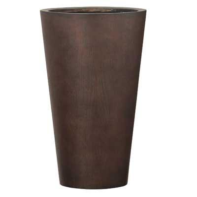MOKU ラウンド 33 x H 54 cm/軽量/植木 鉢 プランター B0148UC54G