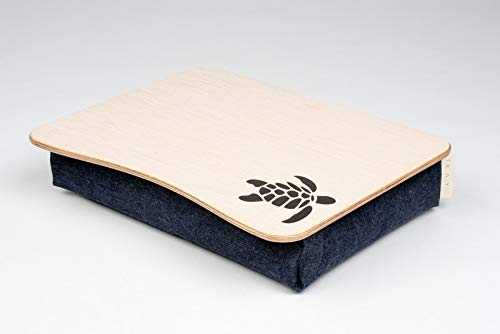 Turtle Laptop Tray//Bed Desk//Wooden Laptop Bed Tray//iPad Table//Pillow Tray//Serving Tray