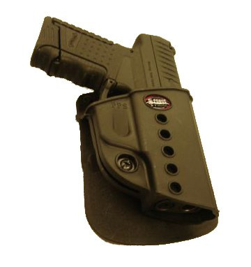 Fobus Concealed Carry Paddle Holster + Shoulder Rig for Walther PPS Smith&Wesson S&W M&P SHIELD/Ruger P95
