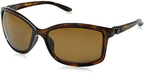 Oakley Women's Step Up OO9292-03 Polarized Cateye Sunglasses