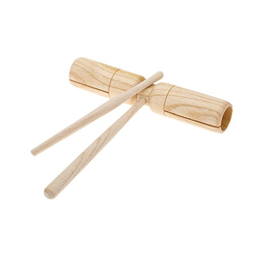 Buy cheap symwell little wooden crow sounder two tone great material percussion instrument exquisite kid children musical