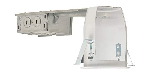 NICOR Lighting 3-Inch Non-IC Rated Line-Voltage Recessed Remodel Housing (13100R)