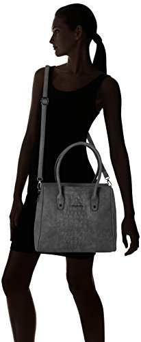 Betty Barclay Shopper Bag - cartera Mujer Gris (Cool Grey)