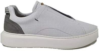Ambitious Sneaker Uomo 10441 Bianco Grigio (Numeric_39)