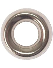Forgefix Screw Cup Washers Solid Brass Nickle Plated No.8 Bag 200