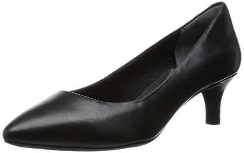 Rockport Kalila Pump - Tacones Mujer Negro - Schwarz (BLACK CALF)