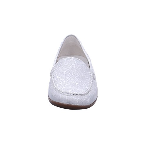 Waldläufer Women's 496301 172 014 Closed Silver Size: 8 UK BeMZyXjA