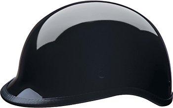 HCI-105 Polo Style Gloss Black 1/2 Helmet-XL