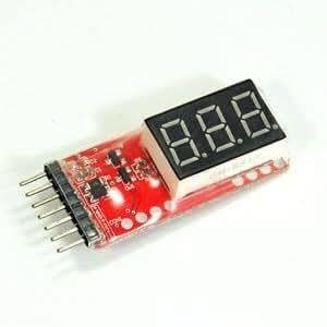 Bluecell Lipo Digital Battery Voltage Checker