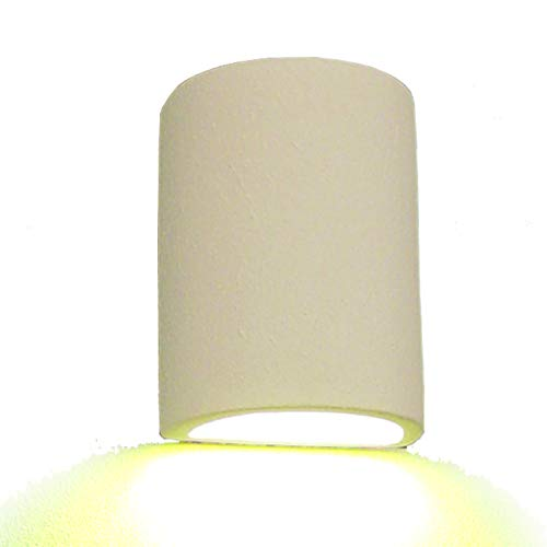 Outdoor Wall Light, Textured Bisque, Paintable, Model -