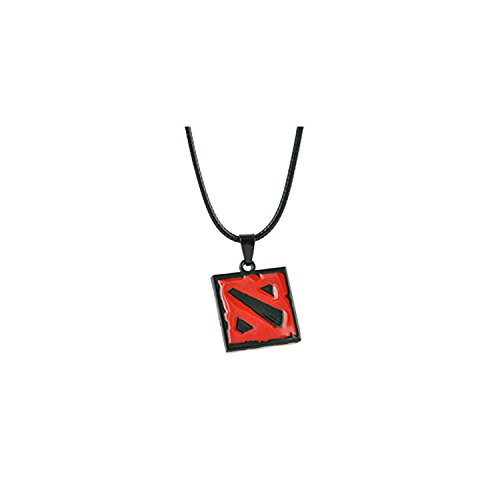 Athena Brand Dota 2 Necklace Pendant PC Video Games Logo Cosplay by