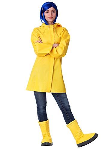 Bayi Co. Adult Coraline Costume X-Large Yellow