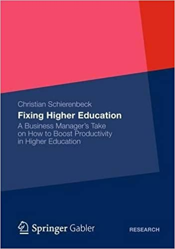 Amazon fixing higher education a business managers take on amazon fixing higher education a business managers take on how to boost productivity in higher education ebook christian schierenbeck kindle store fandeluxe Images