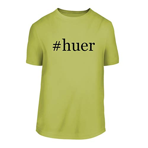 #Huer - A Hashtag Nice Men's Short Sleeve T-Shirt Shirt, Yellow, Large by Shirt Me Up