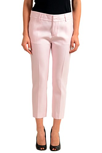 Dsquared2 Silk Pink Women's Casual Pants US XS IT 38