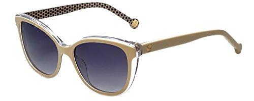 Carolina Herrera Designer Sunglasses SHE694-0AR7 in Ivory Crystal - Herrera Sunglasses Carolina