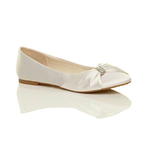 Femmes mariage demoiselle d honneur bal de promo soir chaussures plats . edf37d792889