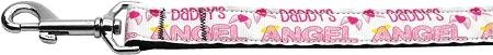 """Mirage Pet Products Daddy's Angel Leash, 1"""" by 6'"""