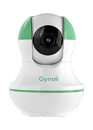 Gynoii Monitor de Vídeo para Bebés Pan Tilt y WiFi Inalámbrico con