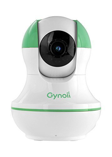 Gynoii GPW-1025 WiFi Wireless Pan-Tilt Video Baby Monitor with HD Infrared Night Vision, Two Way Audio & Time-Lapse for iPhone, iPad, Android Phones & Tablets