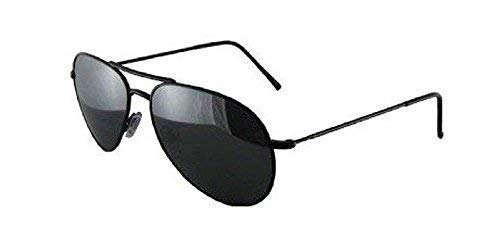779892a63b Mens Womens Unisex Adult Children Aviator Wayfarer Sport Stylish Sunglasses  (Adults Black Frame Black Lens Aviators SG033)  Amazon.co.uk  Clothing