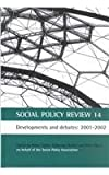 img - for Social Policy Review 14: Developments and debates: 2001-2002 book / textbook / text book
