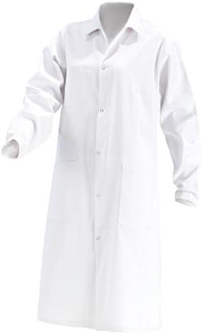 Abrigo de Laboratorio para Mujer, Segunda selección, 100% algodón, Bata Blanca de Laboratorio, Puede Contener pequeños Errores: Amazon.es: Ropa y accesorios