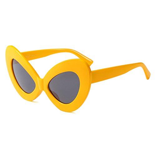b60de8eaf1 junkai Gafas De Sol De Mariposa Gafas De Sol Vintage De Ojo De Gato Para  Hombres