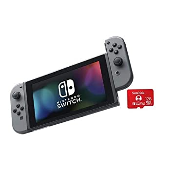 Amazon.com: Nintendo Switch con controladores Joy-Con grises ...
