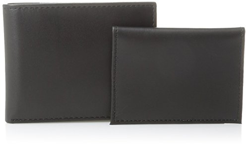 Tommy Hilfiger Men's Dore Passcase Billfold Wallet,Black,One Size
