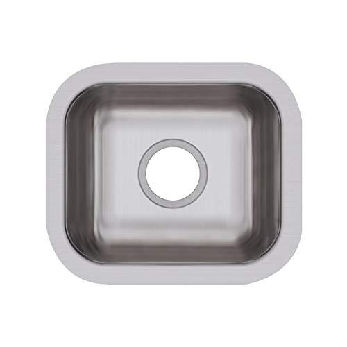 (Elkay DXUH1210 Dayton Single Bowl Undermount Stainless Steel Bar Sink)