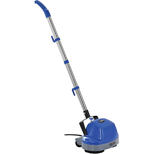 Global Industrial Mini Floor Scrubber W/Floor Pads, 11″ Cleaning Path
