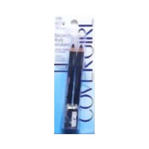 CoverGirl Professional Brow & Eye Makers Brow Shaper & Eyeliner, Midnight Black 500, .06 oz (Pack of (0.06 Ounce Eye)